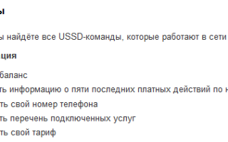 Полный список ussd запросов для абонентов мтс