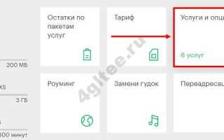 Отключить платные услуги мегафон через смс