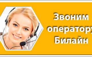 Поддержка клиентов билайн бесплатный телефон