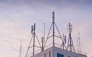 Определить вышку сотовой связи